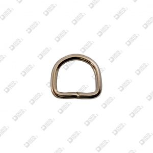 10142/25-S WELDED HALF-RING 25×23 WIRE 4,5 MM IRON