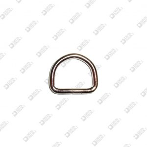 2941/25/S WELDED HALF-RING 25X20 WIRE 4 MM IRON