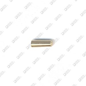 60908 CONICAL PIN 2,2X6 BRASS