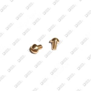 62682 SCREW TB 3,2X4 M 1,7X2,6 BRASS