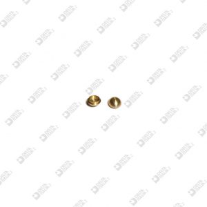 64559 ORNAMENT D. 6,5X3,5 WITH SEAT 4,7X1,3 MM BRASS