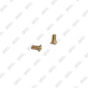 64731/2,5 SCREW TGS 2X2,8 M 1,5X2,5 T. 2 BRASS