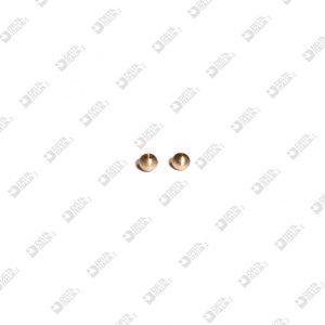 65009/1 SPHERE TERMINAL D. 6 MM 2,6 BRASS