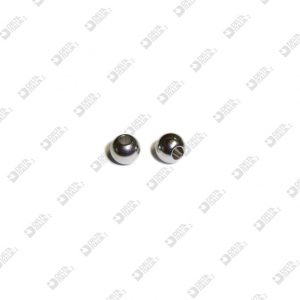 8893 SPHERE D. 10 PASSING HOLE MM 4,1 BRASS