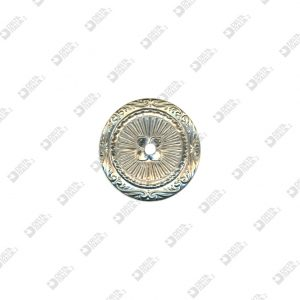 9189 ROUND ORNAMENT D. 38 MM WITH HOLE IRON