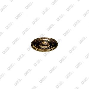 9849 RIVET ORNAMENT 30X16 MM ZAMAK
