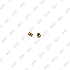 63389/1 ORNAMENT 4,1X6 MM 2 WITH THROAT BRASS