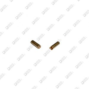 61589 COUNTER-PERFORATED PIN 3,5X12 FOR 4582 BRASS