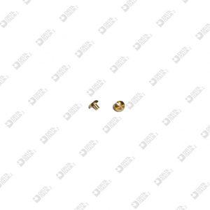 63716 FAKE SCREW TB 5X4 STICK MM 1,9X2,5 BRASS