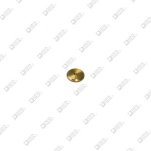 61519/2 KNURLED RING D. 12X2 MM 2 BRASS
