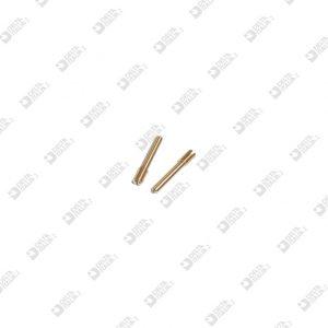 64135/17 GRANO 3X17 PUNTA CONICA M 3X5 TC OTTONE