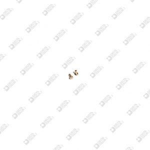 62297/M MASCHIO 2,5X4 GAMBO 1,2X3,4 MM OTTONE