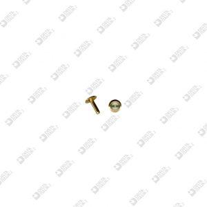 62697 MALE 6,5X8 STICK 2,15X8 MM BRASS