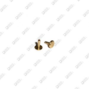 63433/9 PERNO 8X10 GAMBO 2,45X9 MM OTTONE