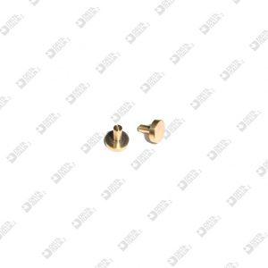 63510/6,5 MASCHIO 9X6,5 CON GOLA OTTONE