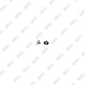 63628/3 MASCHIO 6X3 MM OTTONE