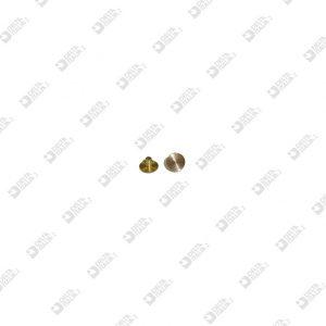 64312/3 MASCHIO 6X3,4 GAMBO 2,15X3 MM OTTONE