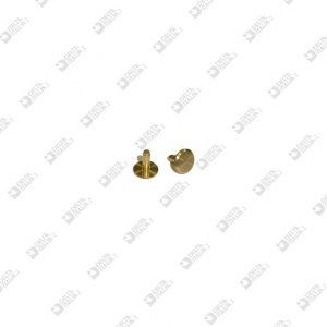 64497/7 MASCHIO 8X8 GAMBO 2,45X7 MM OTTONE