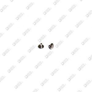 64539/4 MASCHIO 2,10X4 TESTA 6,5 MM FERRO