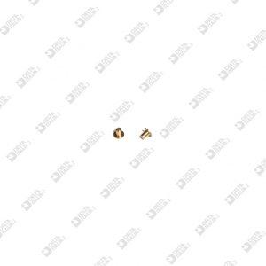 64576/3 MASCHIO 4X3,4 GAMBO 2,1X3 MM OTTONE