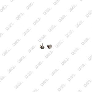 64646/5 MASCHIO TESTA 4,5 GAMBO 1,5X5 MM SENZA INVITO FERRO