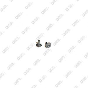 11486/6,5/TC OLGO 032 X ZAMA 6,3X6,5 MM TESTA CONCAVA FERRO