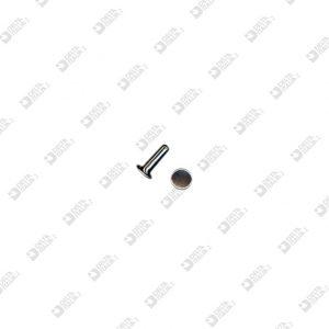 8856/11/TP RIVET 033 5/8 FOR ZAMAK 7X11 FLAT HEAD IRON