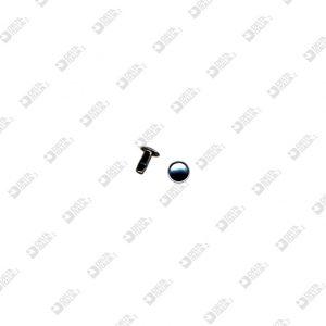8856/8/TC RIVET 033 FOR ZAMAK 7X8 MM CONCAVE HEAD IRON