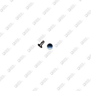 8856/8/TP RIVET 033 FOR ZAMAK 7X8 MM FLAT HEAD IRON