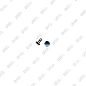 8856/8/TP OLGO 033 PER ZAMA 7X8 MM TESTA PIANA FERRO