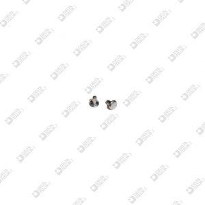 9763/4,5/TP RIVET 031 FOR ZAMAK 4,8X4,5 MM FLAT HEAD IRON