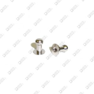 021 STUD 10X13 BALL 7 BRASS