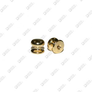 022 POMOLO 13X11 SFERA 12,5 M4 OTTONE