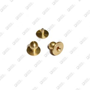10060/P PRESSURE STUD 8X6,8 BALL 5 WITH MALE BRASS