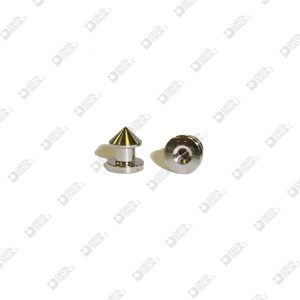 11550 CONICAL STUD 8X9,3 BALL 7 M. 3 ECOBRASS