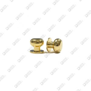 3158 STUD 10X9,5 BALL 10 BRASS