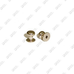 501 STUD 9X10 BALL 8 ECOBRASS