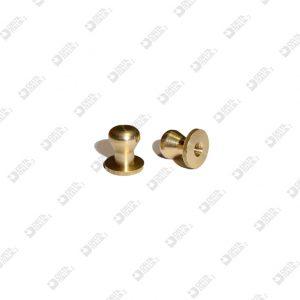 9518/E POMOLO 10X10,5 A CALICE SFERA 8 OTTONE