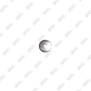3577/14 RANELLA 14X1 FORO MM 3,1 FERRO