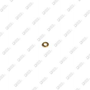 63520/1 WASHER 7,5X1,6 HOLE MM 4,2 BRASS