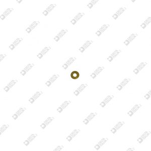 64768 WASHER 5,7X0,3 HOLE MM 2,6 BRASS
