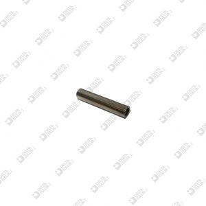 10054/30 TUBETTO 6X30 FORO MM 4 OTTONE