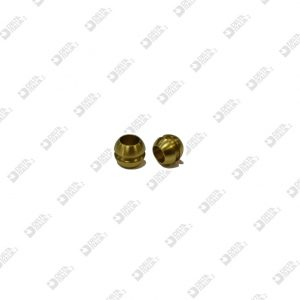 3893 TUBE 9X7,5 HOLE MM 5,5 WITH THROAT BRASS