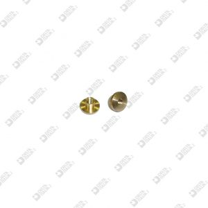 10059/3,5-F FEMALE REGISTER SCREW D. 10 STICK 5X3,5 M 4 PASSING BRASS