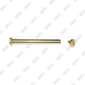 63897/60 REGISTER SCREW D. 10 STICK 5,5X60 BRASS