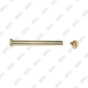63897/60 REGISTER SCREW D. 10 STICK 5,5X60 BRASS