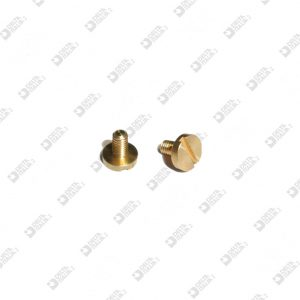 62375/M SCREW TC 6X6 M 2,6X4,5 BRASS