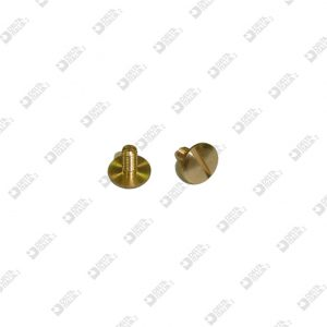 62552/6 SCREW TBL M 3X6 T. 8 BRASS