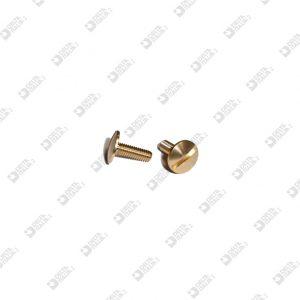 62552/9 SCREW TBL M 3X9 T. 8 BRASS