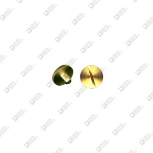 62825 SCREW TC 11X8 M 4X6 BRASS